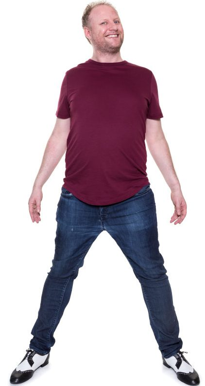fred cooke comedian full length photo